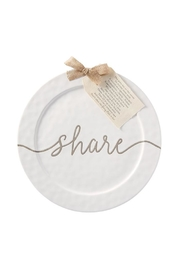 Mud Pie Share Platter - Front cropped