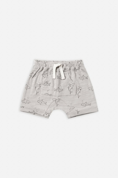 Rylee & Cru Shark Front Pouch Short - Product List Image