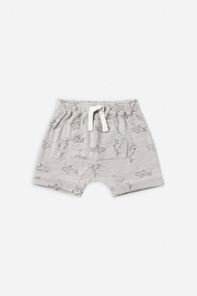 Rylee & Cru Shark Front Pouch Short - Product Mini Image