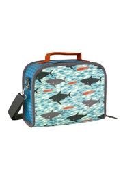 Petit Collage Shark Lunch Box - Front cropped