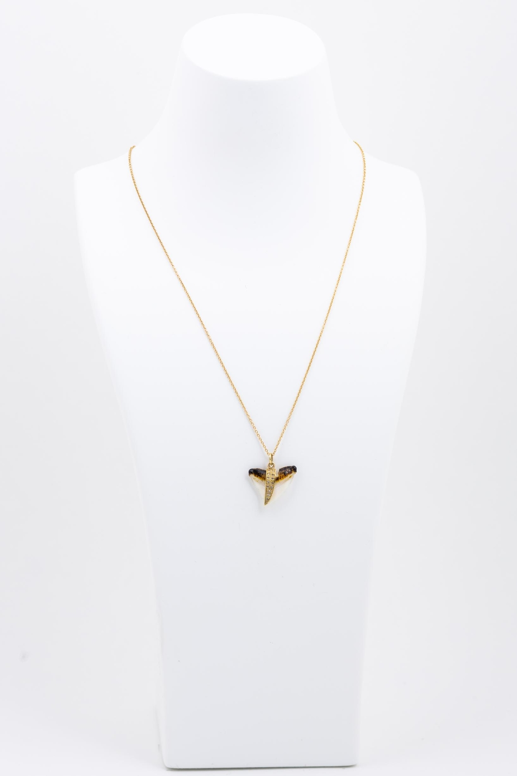 Jacquie Aiche Shark Tooth Necklace - Front Full Image