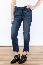 Parker Smith Sharkbite Straight Jean - Front cropped