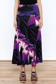 Sharon Max Purple Convertible Skirt - Side cropped