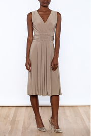 Sharon Max Ruched Waist Dress - Product Mini Image