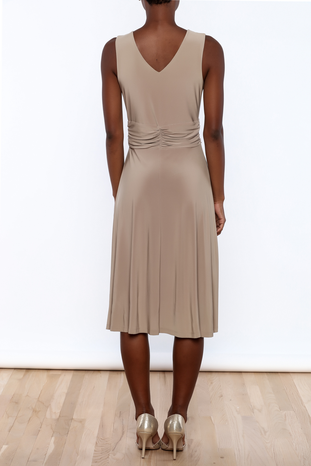 Ruched Waist Dress