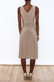Sharon Max Ruched Waist Dress - Back cropped