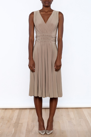 Sharon Max Ruched Waist Dress - Front cropped