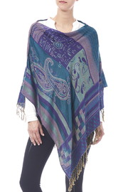 Sharons Shawls Infinity Shawl - Front cropped