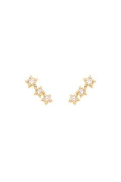 Shoptiques Product: Trinity Stud Earrings