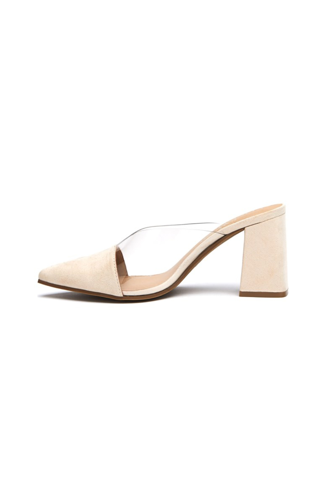 Matisse/Coconuts Shauna Acrylic Pump - Front Cropped Image