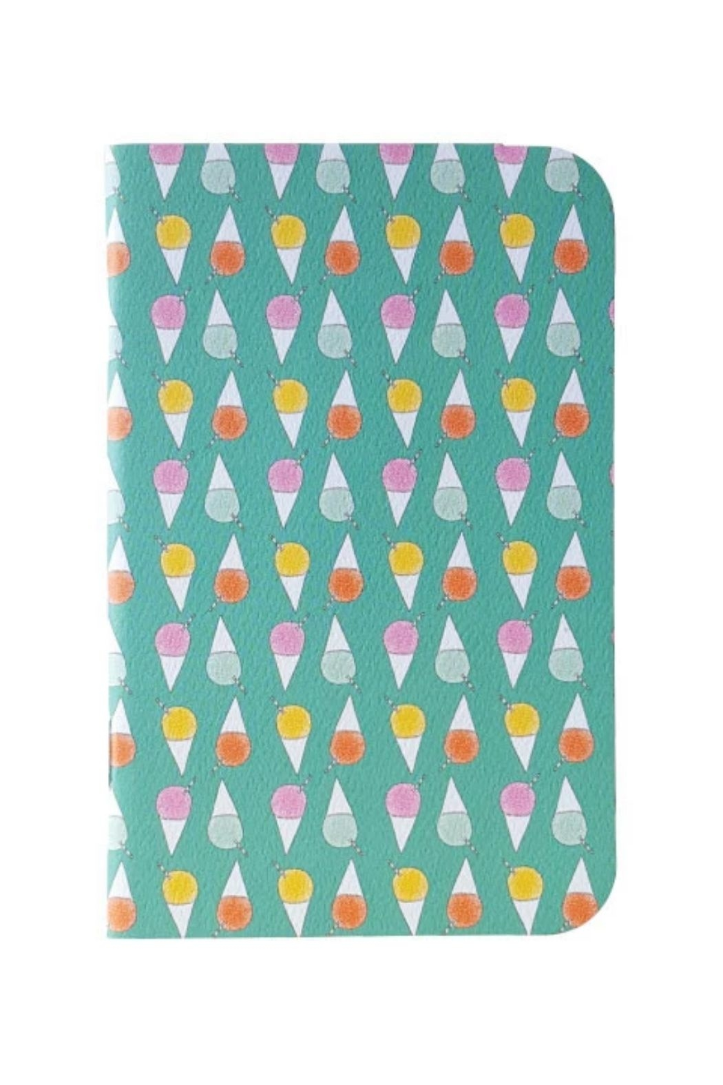 Bradley & Lily Shave Ice Mini Notebook - Main Image