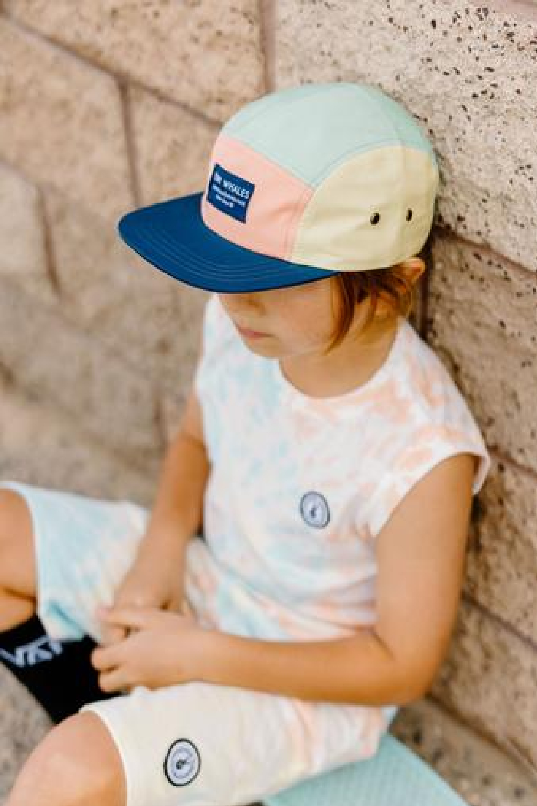 Tiny Whales  Shaved Ice Panel Hat - Front Full Image