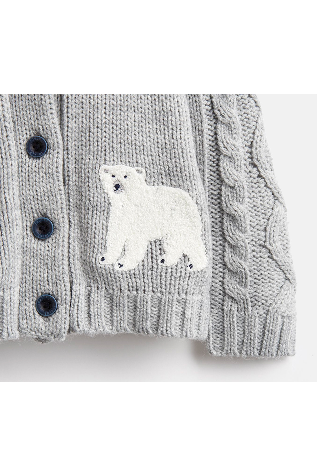 Joules Shawl Collar Cardigan - Side Cropped Image