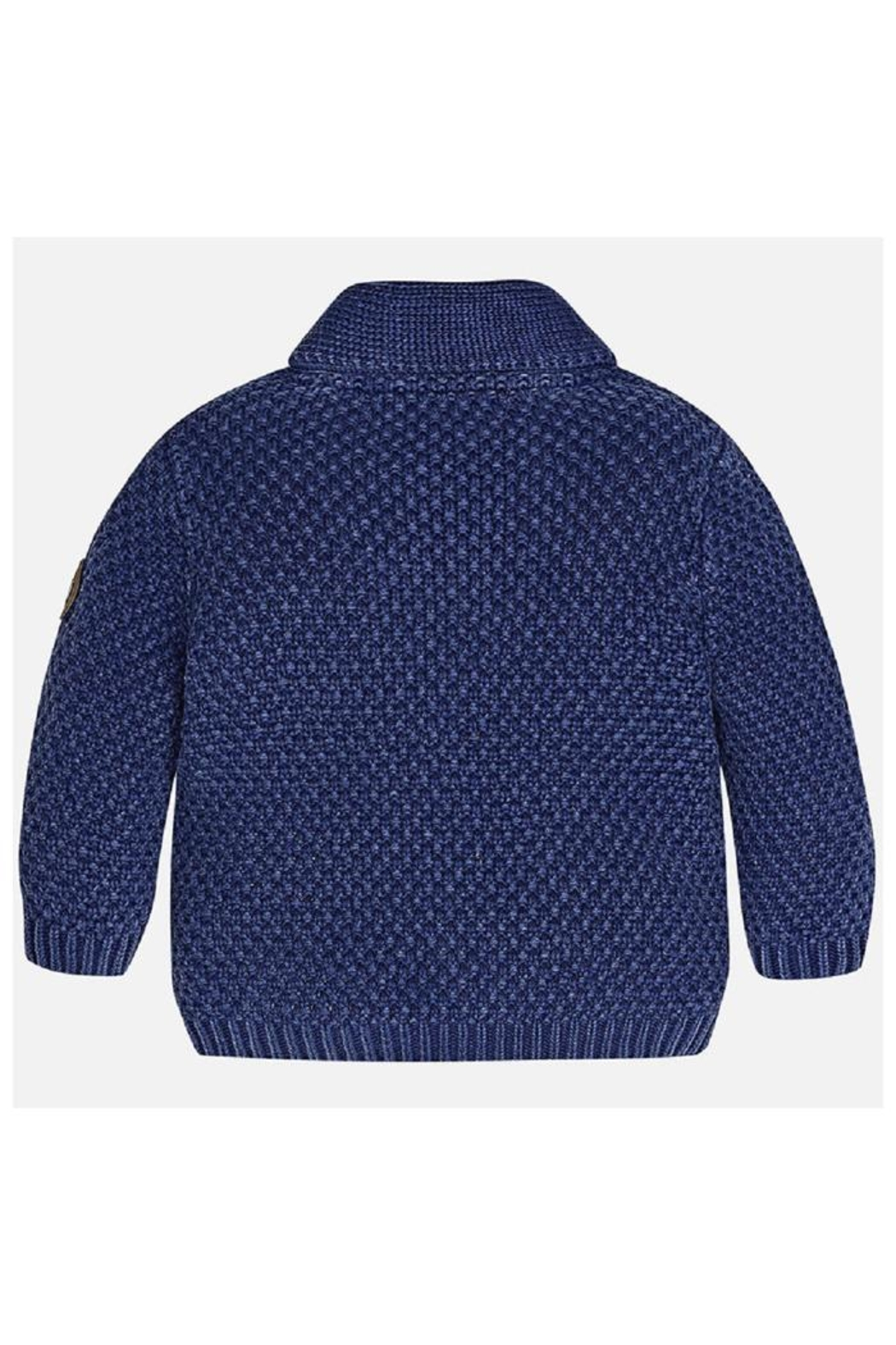 Mayoral Shawl Collar Sweater - Side Cropped Image