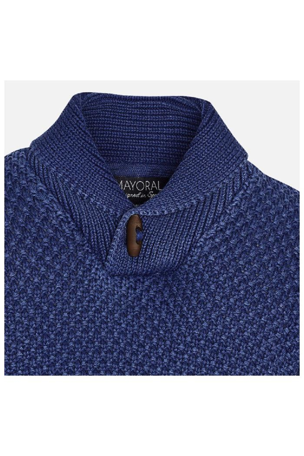 Mayoral Shawl Collar Sweater - Front Full Image