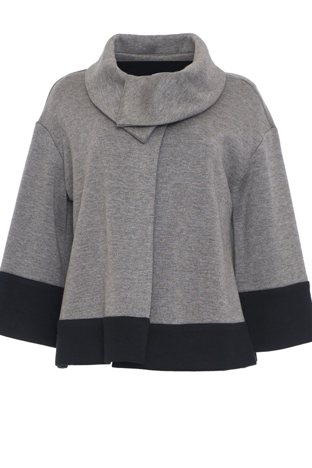 Joseph Ribkoff  Shawl Collar Sweater - Front Cropped Image