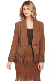 Cripple Creek Shawl Fringe Jacket - Product Mini Image