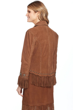 Cripple Creek Shawl Fringe Jacket - Alternate List Image