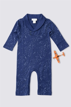 Shoptiques Product: Shawl-Neck Rocket Romper