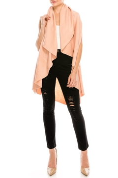 Look by M Shawl Scarf Sweater - Product List Image