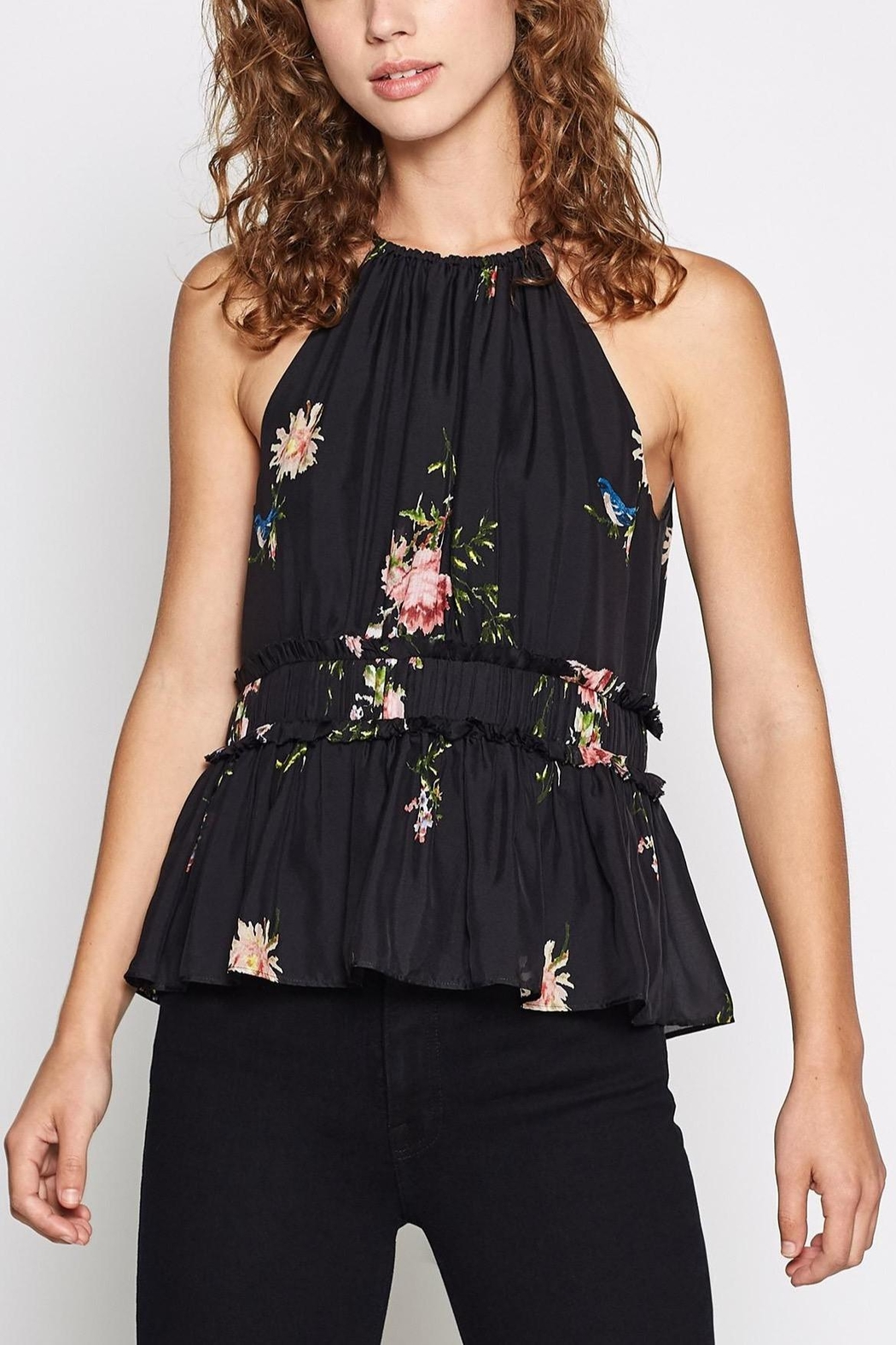 Joie Shawnette Silk Top - Front Cropped Image