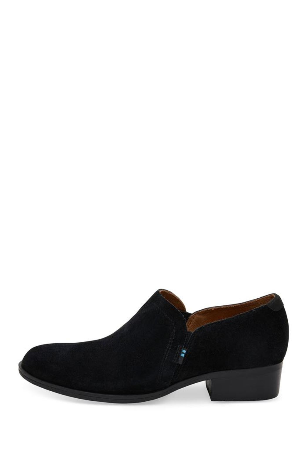 TOMS Shaye Suede Booties - Front Full Image