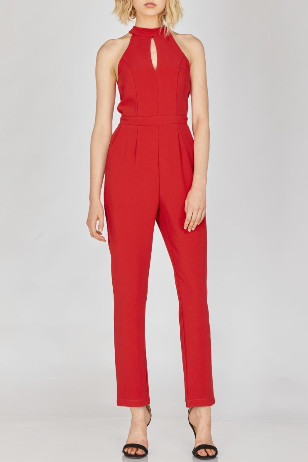 Adelyn Rae Shaylie Scallop Jumpsuit - Main Image