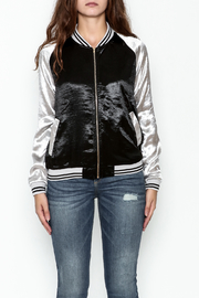 She + Sky Ashton Bomber Jacket - Front full body