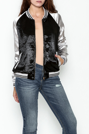 She + Sky Ashton Bomber Jacket - Front cropped