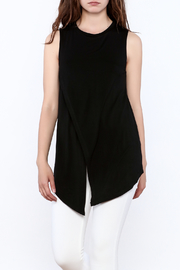 She + Sky Basic halter top - Front cropped
