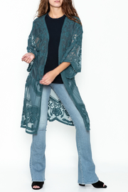 She + Sky Chloe Lace Duster - Product Mini Image