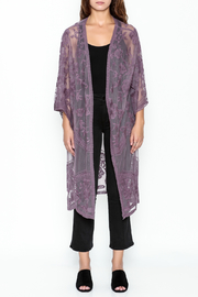 She + Sky Chloe Lace Duster - Front full body