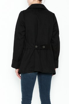 encreme Double Breasted Black Jacket - Alternate List Image