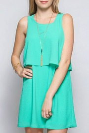 She + Sky Double Layer Tank Dress - Product Mini Image