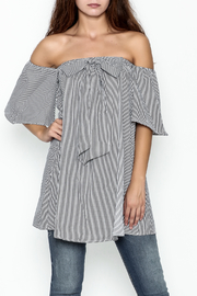 She + Sky Erin Off Shoulder Dress - Product Mini Image