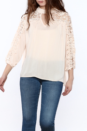 She + Sky Peachy Gauze Blouse - Product Mini Image