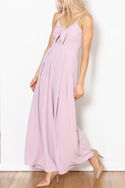 She + Sky Knot Front Jumpsuit - Product Mini Image