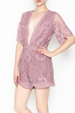 Shoptiques Product: Kourtney Lace Romper