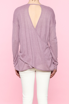 Shoptiques Product: Lavender Cutout Top