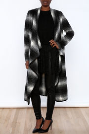 Shoptiques Product: Long Plaid Coat