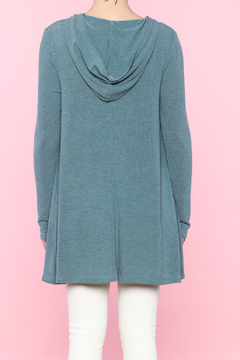 Shoptiques Product: Long Sleeve Hooded Sweater