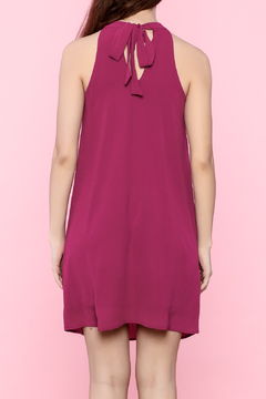 Shoptiques Product: Magenta Cutout Dress