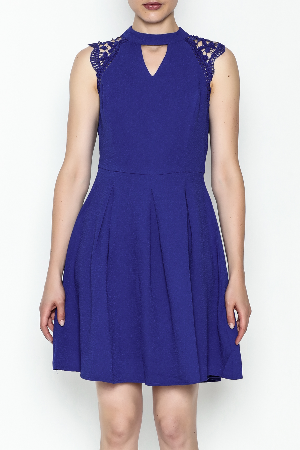 She + Sky Monica Party Dress - Front Full Image
