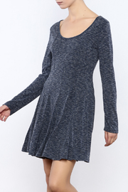 She + Sky Navy Heathered dress - Product Mini Image