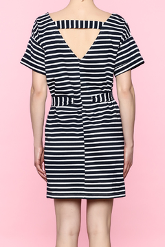 Shoptiques Product: Navy Tie Dress