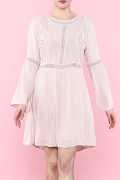 Shoptiques Product: Pink Crochet Dress