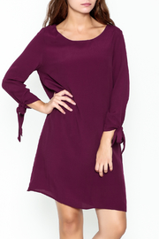 She + Sky Ribbon Detail Dress - Front cropped