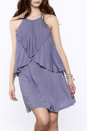She + Sky Blue Sleeveless Shift Dress - Product Mini Image