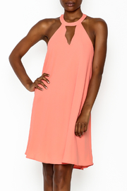 She + Sky Sleeveless Scalloped Neck Dress - Product Mini Image