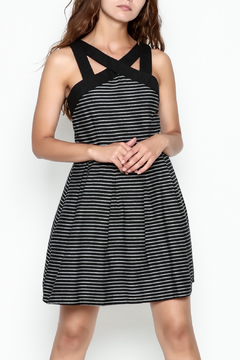 Shoptiques Product: Striped Fit Flare Dress
